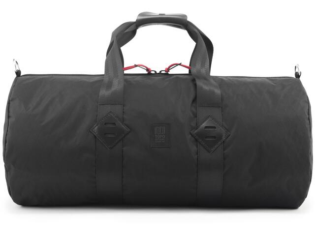 Topo Designs Classic Sac, ballistic black/black leather